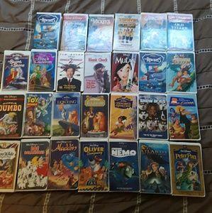 Disney VHS lot
